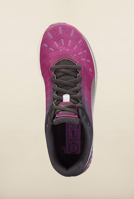 Puma Speed Purple & Grey Running Shoes