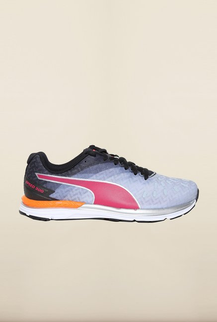 Puma Speed Quarry & Rose Red Running Shoes