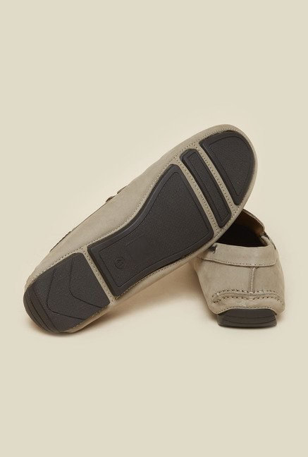 Atesber by Inc.5 Grey Casual Boat Shoes