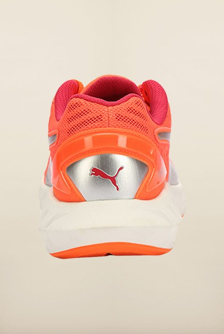 5f2afa4f714 Buy Puma Ignite Fluo Peach   Rose Red Running Shoes Online at best ...