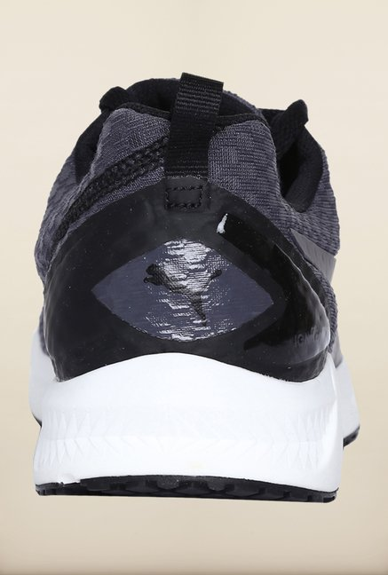 Puma Ignite Grey & Black Running Shoes