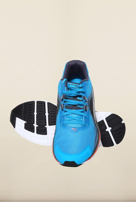 Puma Atomic Blue & Black Running Shoes