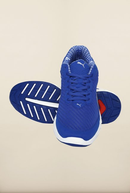 Puma Ignite Blue & Black Running Shoes