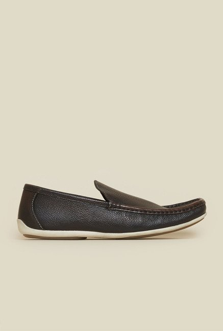 Privo by Inc.5 Brown Leather Loafers