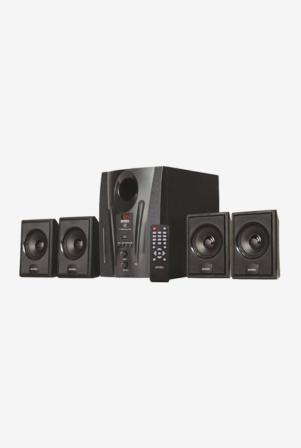 Intex IT 2655 DigiPlus 4.1 Ch Computer Speaker (Black)