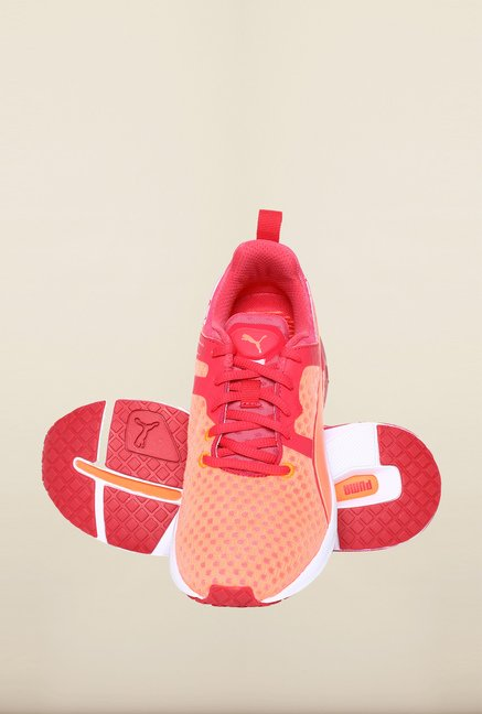 Puma Fluo Peach & Rose Red Training Shoes