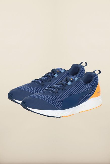 Puma Ignite Blue Wing Navy Running Shoes