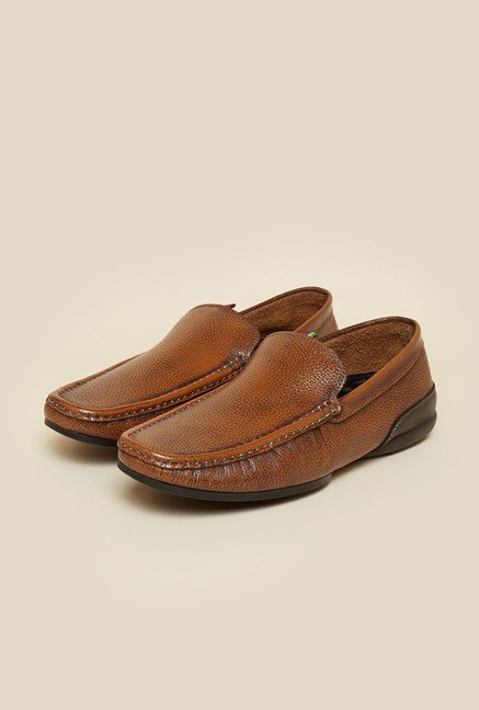 Privo by Inc.5 Tan Leather Casual Loafers