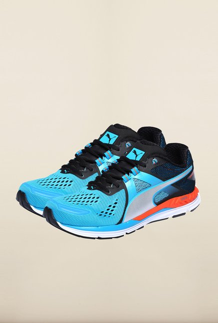 Puma Ignite Atomic Blue & Silver Running Shoes