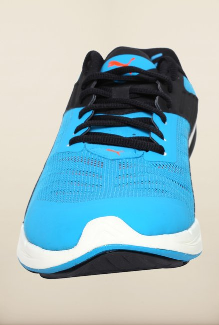 Puma Ignite Atomic Blue & Black Running Shoes