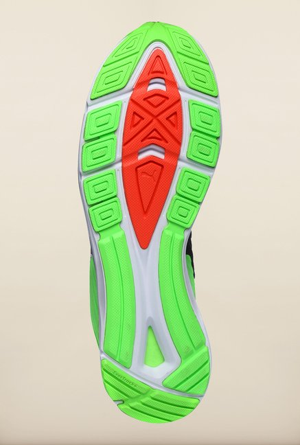 Puma Speed Green Gecko & Black Running Shoes