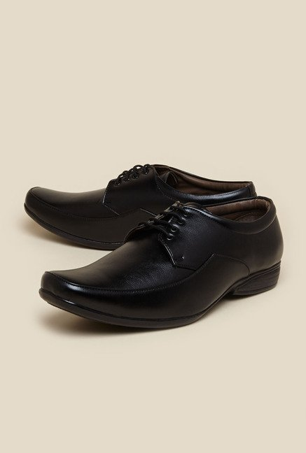 Zudio Black Oxford Formal Shoes