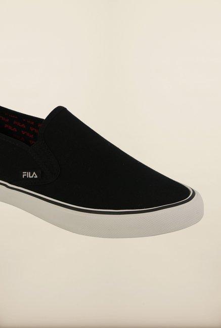 Buy Fila Relaxer IV Black Slip On Shoes