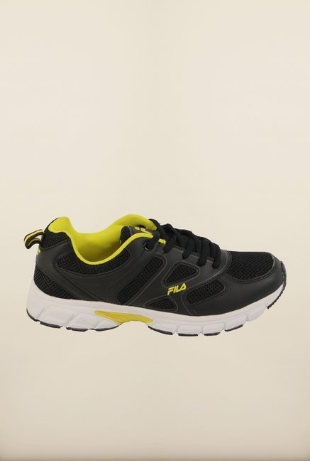 Fila Barrel III Black Running Shoes
