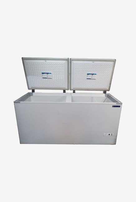 Blue Star CHF500A 500 L Double Door  Deep Freezer (White)