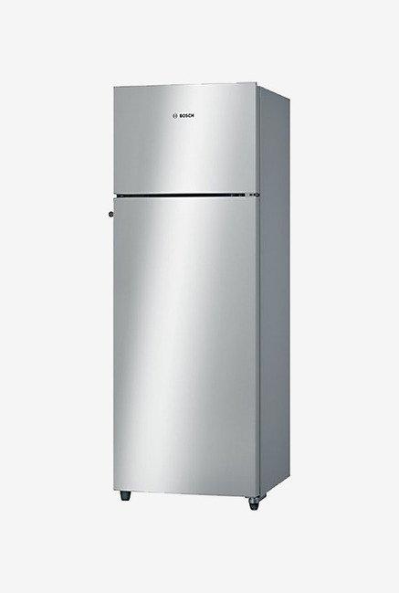Bosch KDN30VS20I 288 L Double Door Refrigerator (Silver)