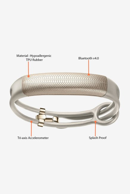 Jawbone UP2 Thin Strap Activity Tracker (OAT Spectrum)
