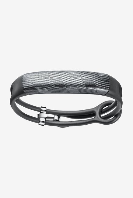 Jawbone UP2 Thin Strap Activity Tracker (Gunmetal Hex)