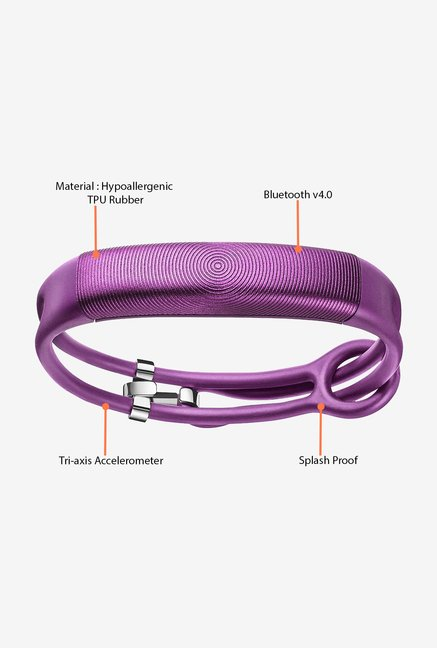 Jawbone UP2 Thin Strap Activity Tracker (Orchid Circle)