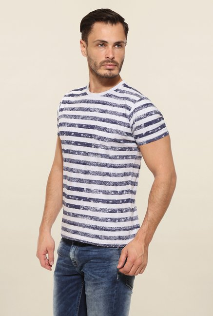 Pepe Jeans White Striped T Shirt
