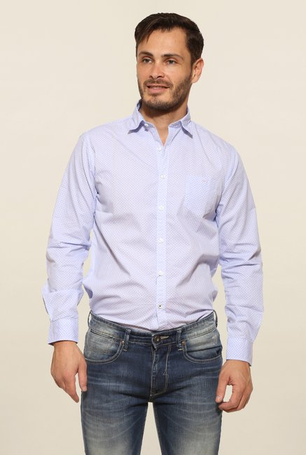 Pepe Jeans Blue Cotton Casual Shirt