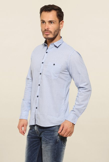Pepe Jeans Blue Casual Shirt