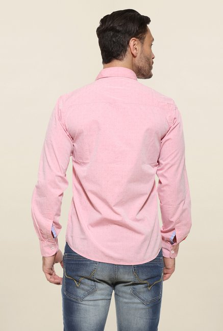 Pepe Jeans Pink Cotton Casual Shirt