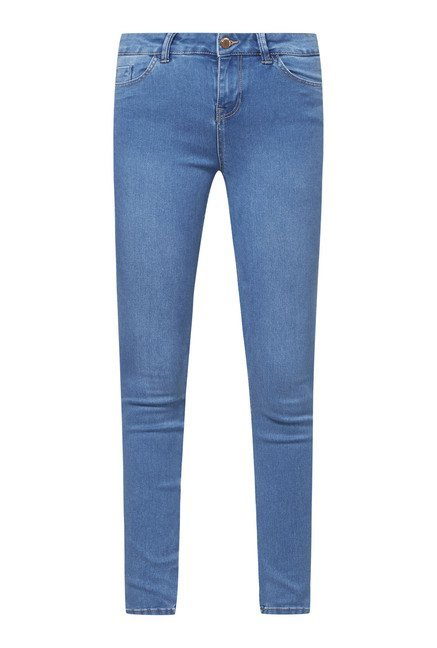 New Look Blue Super Skin Fit Jeans