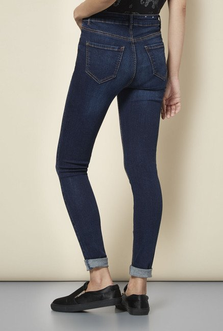 New Look Navy Skin Fit Jeans