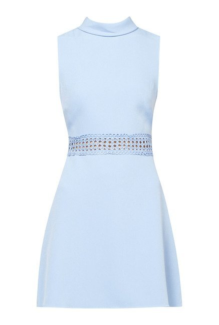 New Look Light Blue Skater Dress