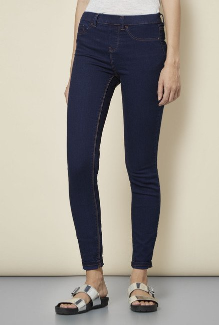 New Look Navy Super Skin Fit Jeggings