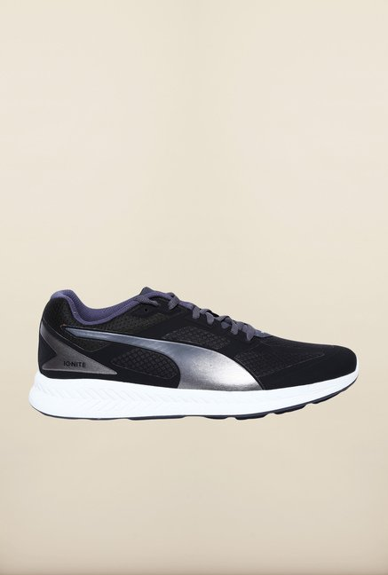 Puma Ignite Black Periscope Running Shoes