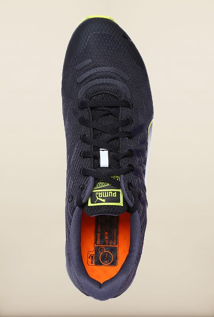 Puma Faas Black Periscope Running Shoes