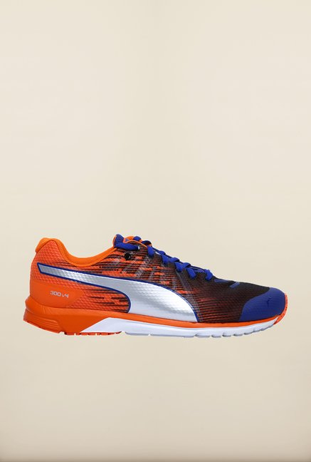 Puma Faas Blue & Orange Running Shoes