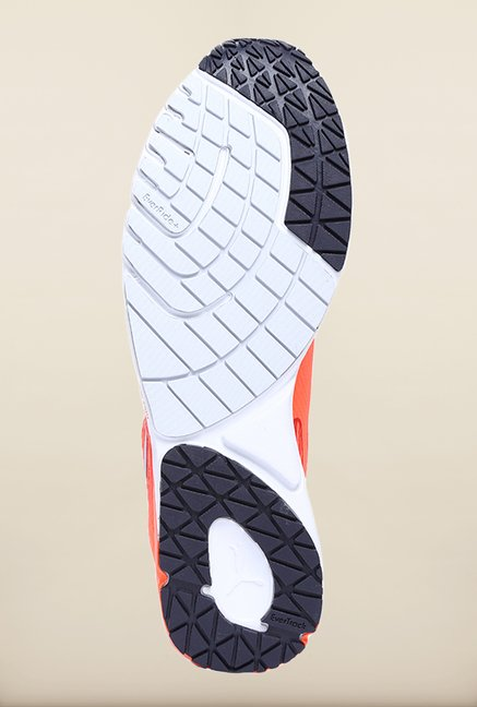 Puma Faas Coral Red & Orange Running Shoes