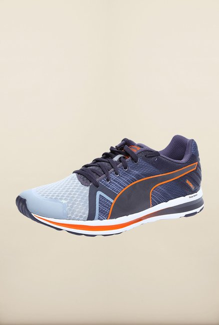 Puma Faas Light Blue & Grey Running Shoes