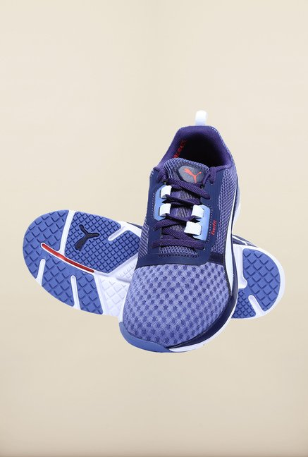 Puma Pulse FLEX XT Denim Blue Running Shoes