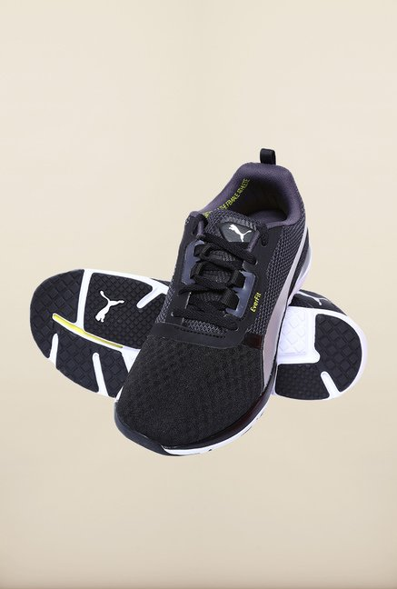 Puma Pulse FLEX XT Black Running Shoes