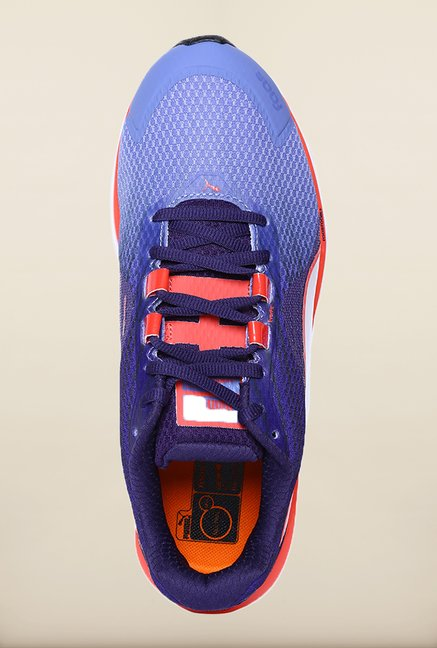 Puma Faas 500 V11 Denim Astral Cayenne Running Shoes