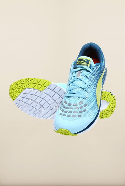 Puma Faas 300 V4 Aqua Blue Running Shoes