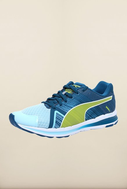 Puma Faas 300 S V2 Blue & Sulphur Running Shoes