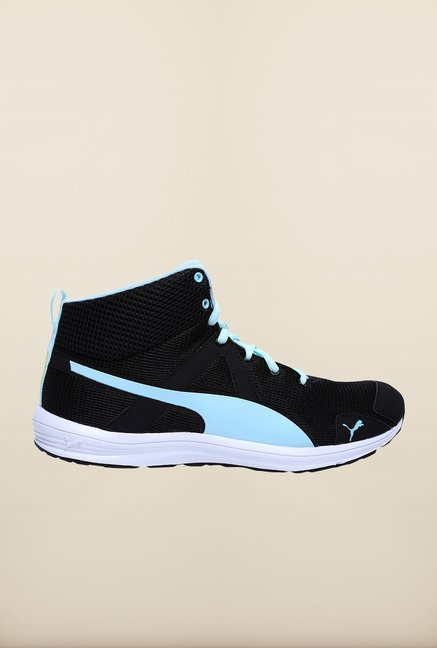 Puma Evader Mid Geo Black Running Shoes