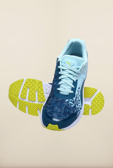 Puma Pulse PWR XT Blue Coral Running Shoes