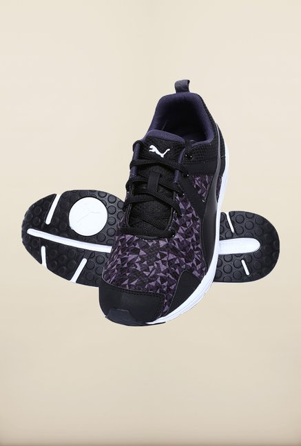 Puma Evader XT Black Periscope Running Shoes