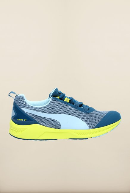 Puma Ignite XT Aqua Blue Running Shoes