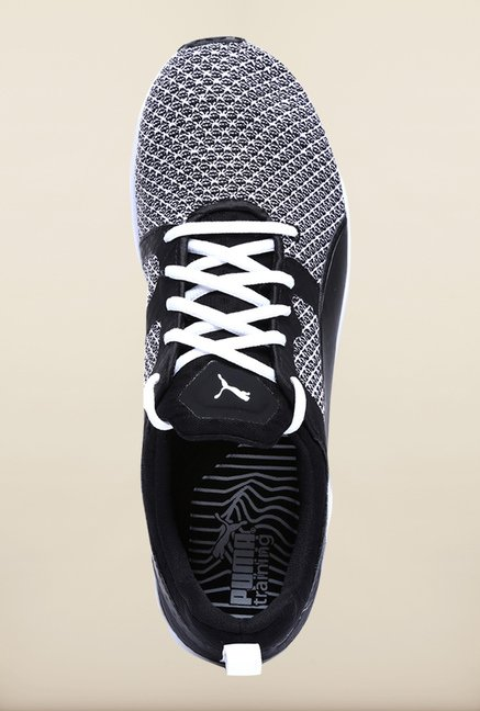 Puma Pulse XT Black & White Training Shoes