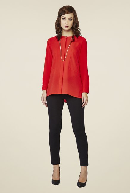 AND Red Ryesen Shirt Top