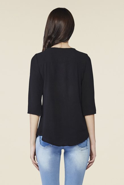 AND Black Cirilla Embellished Top