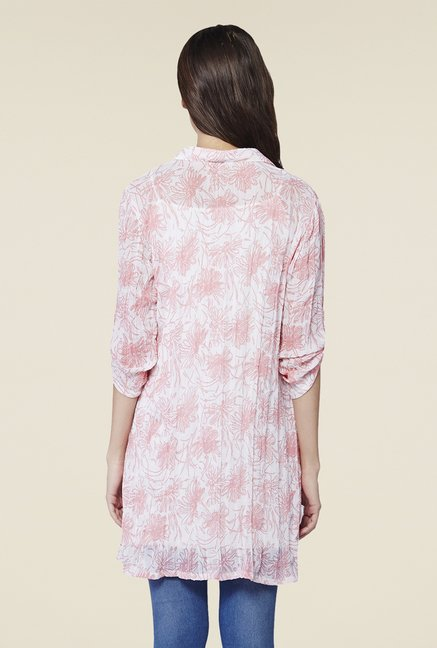 AND Pink & Ivory Printed Top