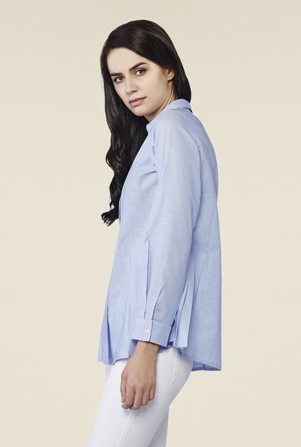 AND Blue Cerelia Powder Shirt